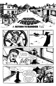 Return to Rander Passing Through