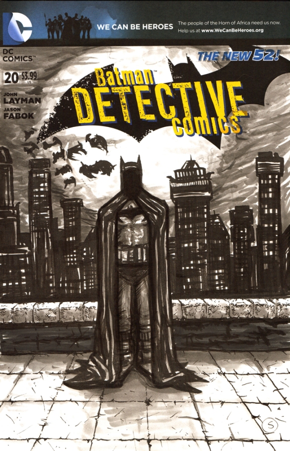 batman sketch cover 2