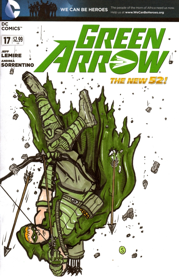 greenarrow sketch cover
