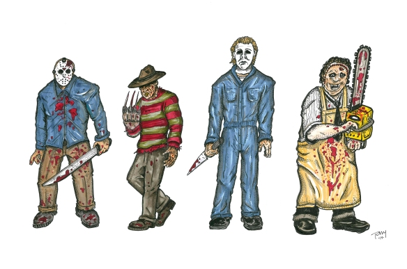 SLASHERS COLOR
