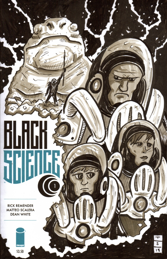 black science sketch cover