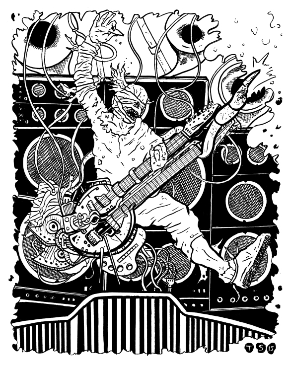 FURY ROAD GUITAR INKS