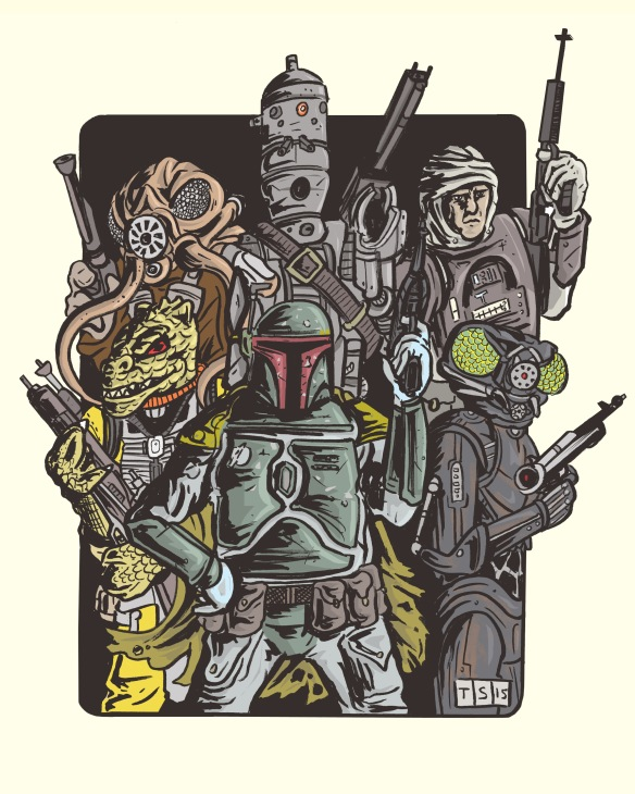BOUNTY HUNTERS CLEAN